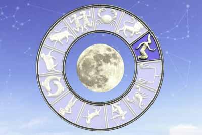 Убывающая луна в деве